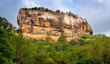 Sri Lanka op reis leeuwenrots Sigiriya