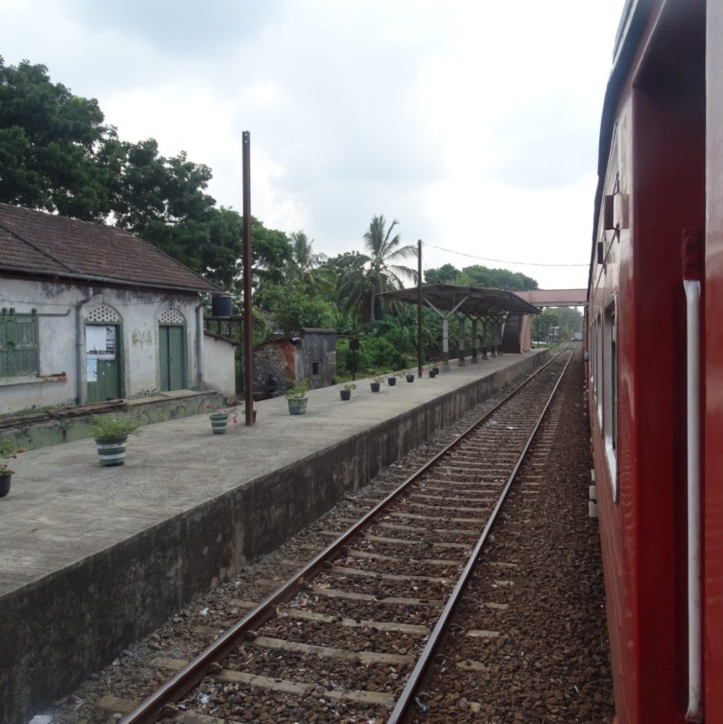 sri lanka op reis, treinreis