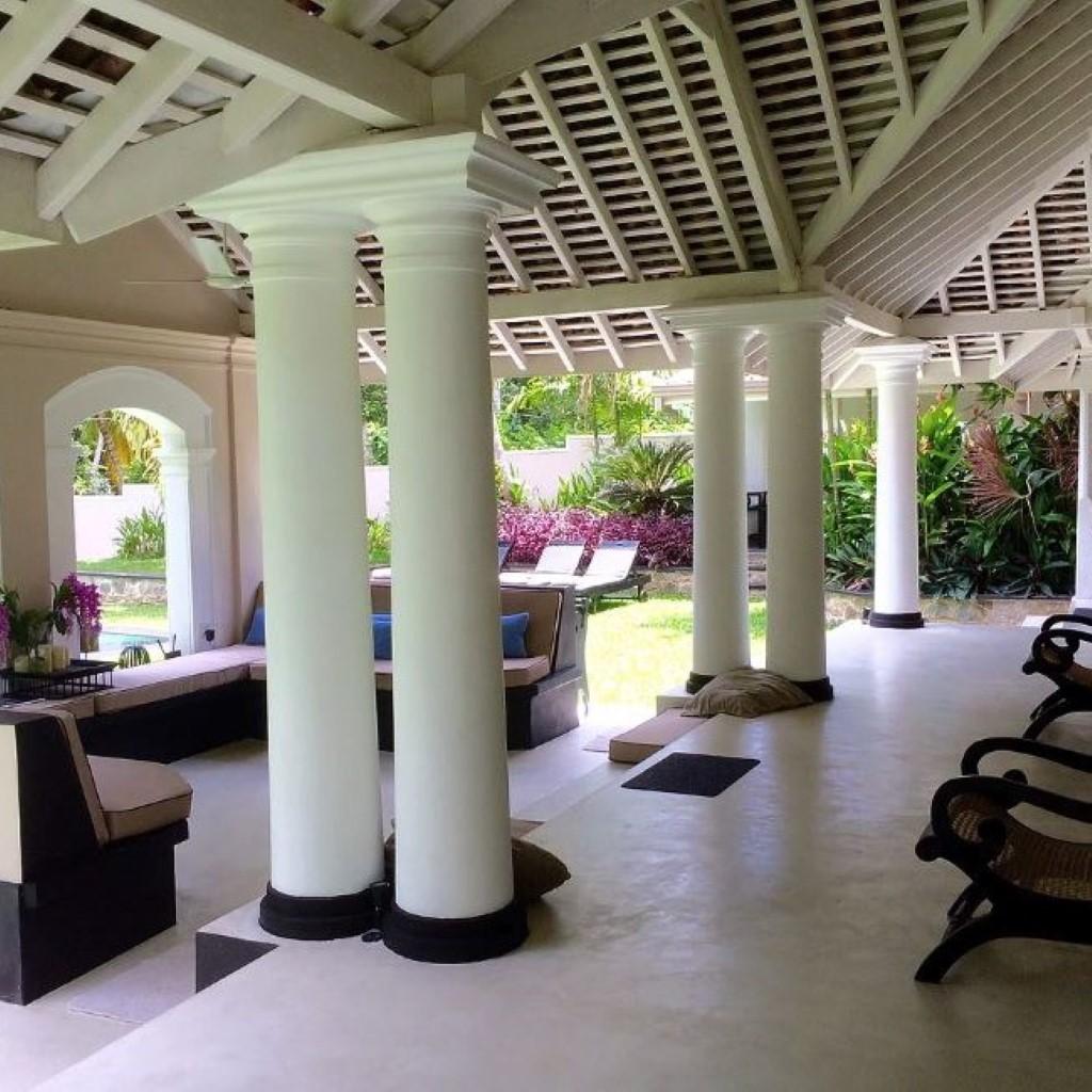 sri lanka op reis, luxe boutique villa