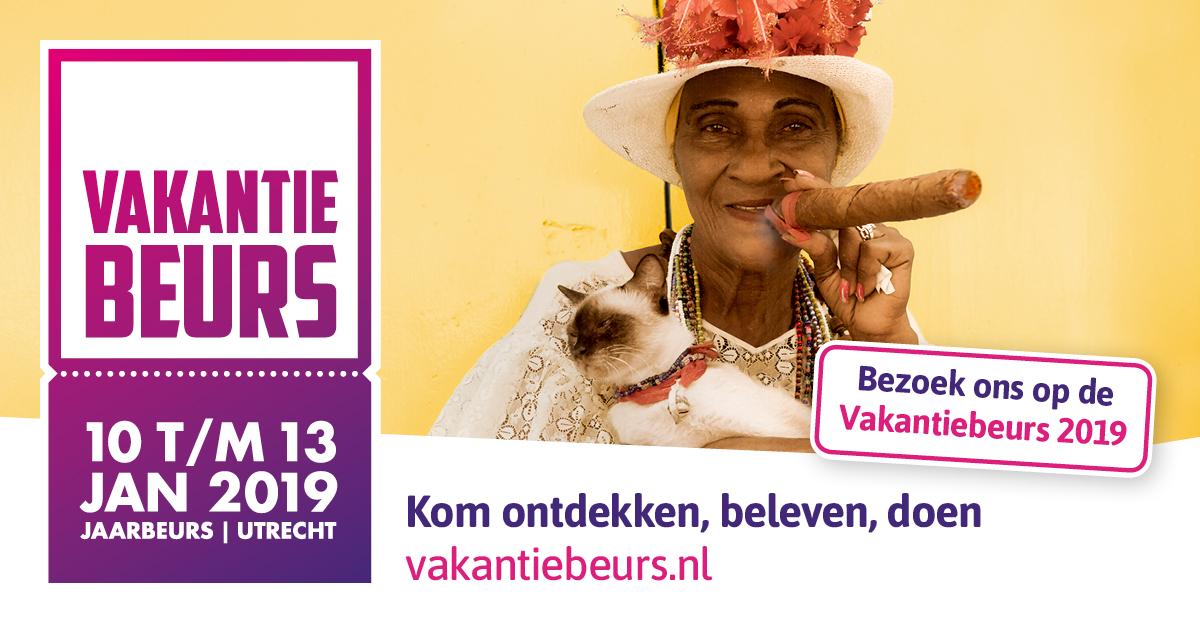 Vakantiebeurs Utrecht, 10 - 13 januari 2019