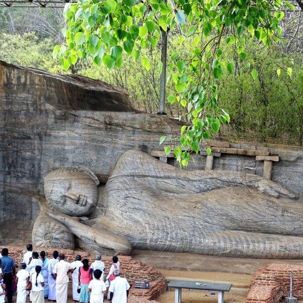 polonnaruwa boeddha